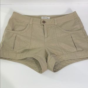 Calvin Klein Linen Shimmering Shorts